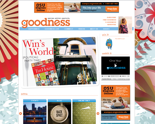 Heka Interactive's Features Project - Goodness Portland Magazine thumbnail